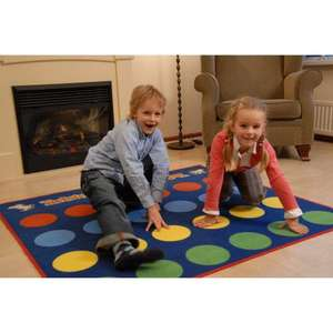 Twister Game Rug Amazon Was £59.95 Now £21.80