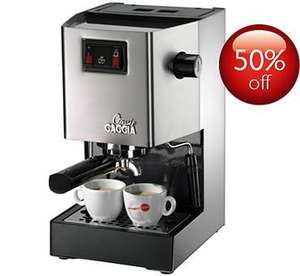 Gaggia Classic Espresso Coffee maker direct From Phillips Online £125, £106 after Cash Back!
