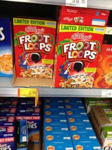 Kellogg's Fruit Loops and Pop Tarts instore ASDA £2