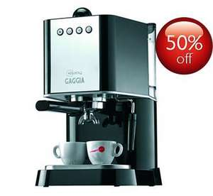 Gaggia Baby Manual Espresso , £82.25 (£69.79 WITH CASHBACK) RRP £235 , or New Espresso £71.50 )@ Philips UK