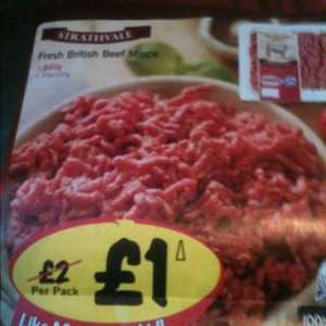 500g British beef mince for £1.00 @ Lidl