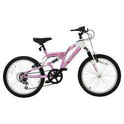 "Terrain Vesuvius 20"" Dual Suspension Kids' Bike - Girls £55.00 @ Tesco Direct"