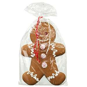Large christmas gingerbread man £5 at John Lewis