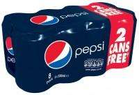 24 cans pepsi £5 @ Morrisons