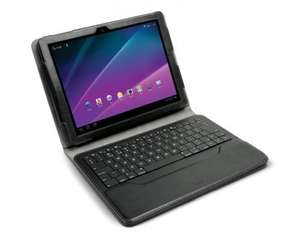 The Professional WorkStation Portfolio for the Samsung GALAXY Tab 1 & 2 10.1 keyboard @ iLuv HALF PRICE £29.99