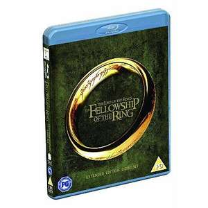 LORD OF THE RINGS - Extended Edition Blu-rays £10 each +4% quidco/ Boxset £38.99 @ Asda Direct +2.02% TPCB