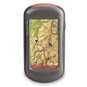 Garmin Oregon 450 GPS + Full UK 1:50k OS maps £281.90 del with code @ Above and beyond