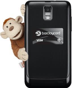 Free Barclaycard PayTag Sticker