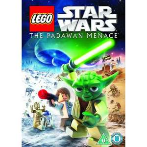 LEGO Star Wars: The Padawan Menace [DVD] £3 at Amazon