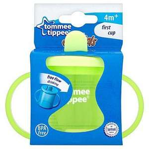 tommee tippee essentials First Cup 4m+ £1 at ASDA Direct using click and collect