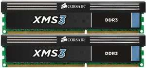 Amazon: Corsair 16GB (2 x 8GB) XMS DDR3 1600MHz 240 pin DIMM CL11 - £53.25  free p+p
