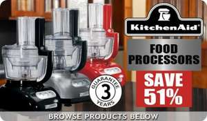 KitchenAid Artisan Food processors save 51% Hereforaday