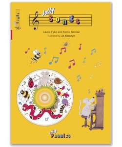 ELC: Jolly Phonics Jolly Songs Book & CD £6.75 with code from £9 plus 6% quidco