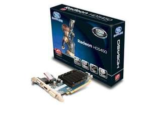 Sapphire ATI RADEON HD 5450 1GB DDR3 PCI Express 2.0 650MHz Graphics Card DVI £21.54 @ ebay dabs_outlet