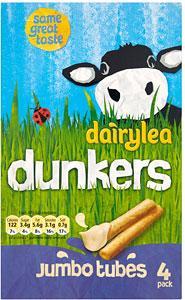 Dairylea Dunkers Jumbo Tubes 4 pack £1 at Asda