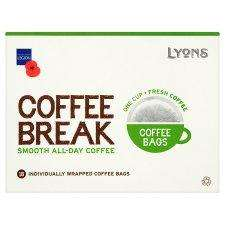 Lyons coffee bags 18pk for £1.70 (usually £2.50) @ Tesco