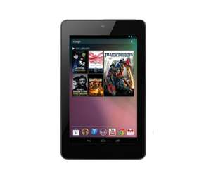 "ASUS Google Nexus 7"" Tablet 32 GB (Effective total = £173 with 10% Quidco and £20 cashback with case) @ PCWorld"