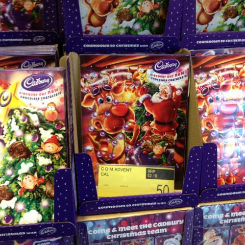 Cadburys Advent Calendars B&M stores 50p