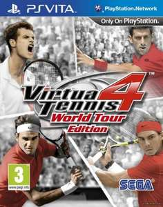 VIRTUA TENNIS 4 for PS Vita only £7 instore at tesco