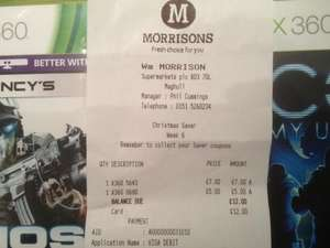 Morrisons Game Reductions - In store - Consolidation Thread!