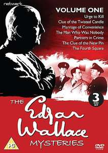 Edgar Wallace Mysteries: Volumes 1 & 2 £8.68 each @ networkdvd.net