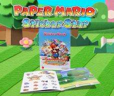 Free limited edition Paper Mario: Sticker Star sticker book when you register the game on Club Nintendo