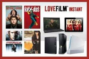 LoveFilm Instant 6 Month Subscription £9.98 @ Groupon BACK ON!!!