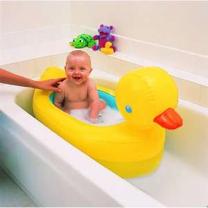Munchkin White Hot Inflatable Duck Tub £7.95 del @ Amazon