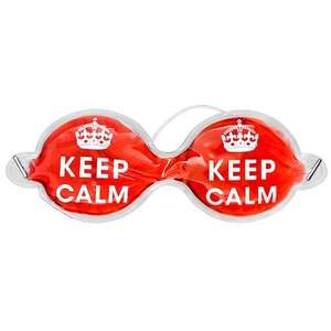 Keep Calm Cooling Eye Mask £1.00 at Poundland