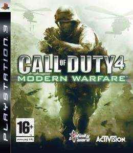 Call Of Duty 4: Modern Warfare PS3 preowned £4.99 from Game