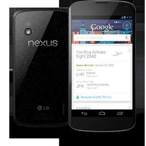 Nexus 4 in stock today 5pm, £279 @ Google Play Store!