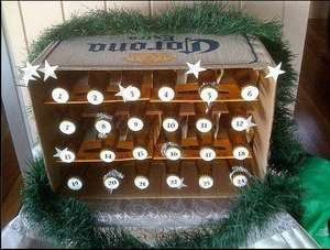 Make your own advent calendar at home for FREE (not including parts and labour)