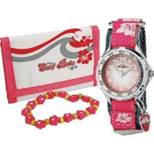 Surf Babe Girls' Purse, Bracelet and Watch Gift Set @ Argos £9.99