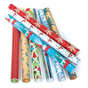 Xmas Wrapping Paper 20 metres (2 x 10m rolls) £1.99 (buy 1 get 1 free) @ The Works