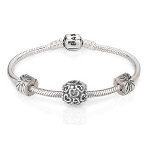 Pandora bracelet, bead and 2 clips at the Jewel Hut - £99