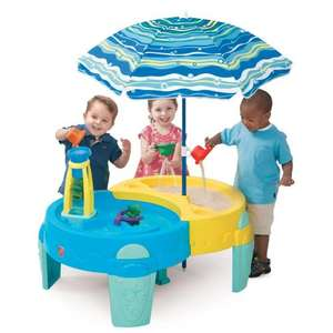 Step2 Shady Oasis Sand and Water Play Table with Umbrella now £28.47 del @ Amazon