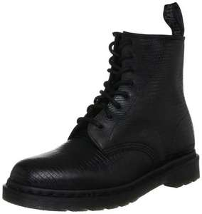 Dr Martens Unisex Adult Lizard 1460 Lace Up Boot  (BLACK) NOW £41.86 delivered @ amazon with code
