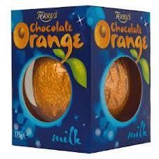 TERRYS CHOCOLATE ORANGE (all varieties) £1 at MORRISONS until 31st December