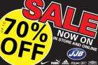 Up To 70% Discount at JJB Sports Sale On Now!