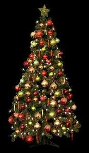 6ft Deluxe Christmas Tree B&M stores £9.99
