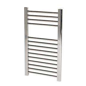 High Quality Flat Ladder Towel Radiator Chrome 400 x 700mm 176W 601Btu @ £29.99 (was £59.99) From ScrewFix