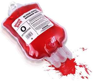 Blood Bath shower gel £3.95 @ PrezzyBox