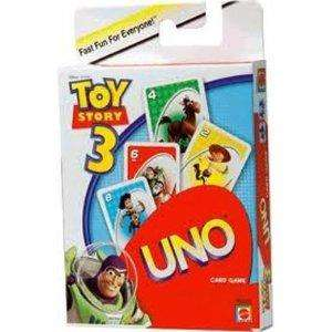 toy story 3 uno cards at Poundworld