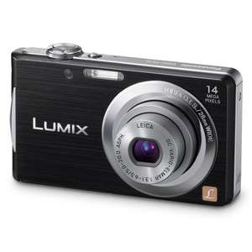 "Panasonic Lumix FS16 Digital Camera - Black (14.1MP, 4x Optical Zoom) 2.7"" LCD £56.99 @ Electrical Deals"