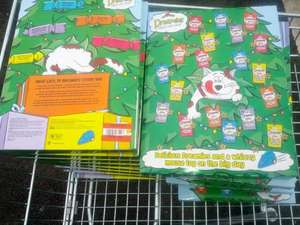 Dreamies cat treat advent calendars marked down to 50p @ Asda Tamworth at Asda