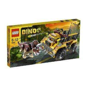 Dino Lego Triceratops Trapper 5885 & Tower defence HQ @ Amazon