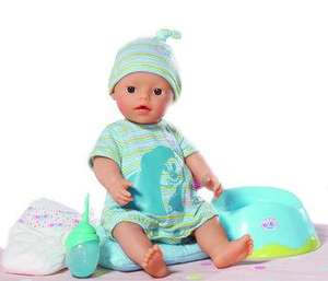 My Little Baby Born Potty Training Doll Instore B&M £14.99