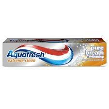 Aquafresh Extreme Clean Whitening 100ml BOGOF £1,80 for two @ Tesco