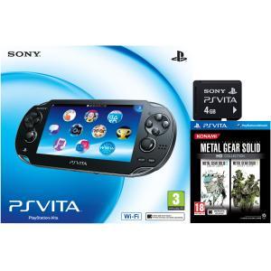 PS Vita + 4GB Memory Card + Metal Gear Solid HD Collection £169.99 @ Zavvi