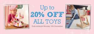 UP TO 20% OFF TOYS EVENT AT THE GLTC